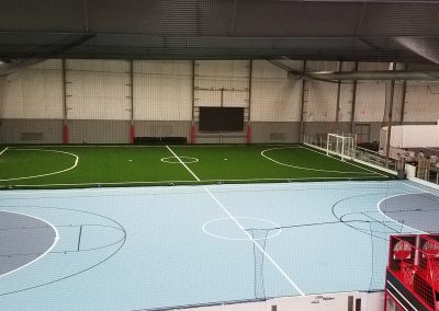 5v5 turf and 5v5 futsal