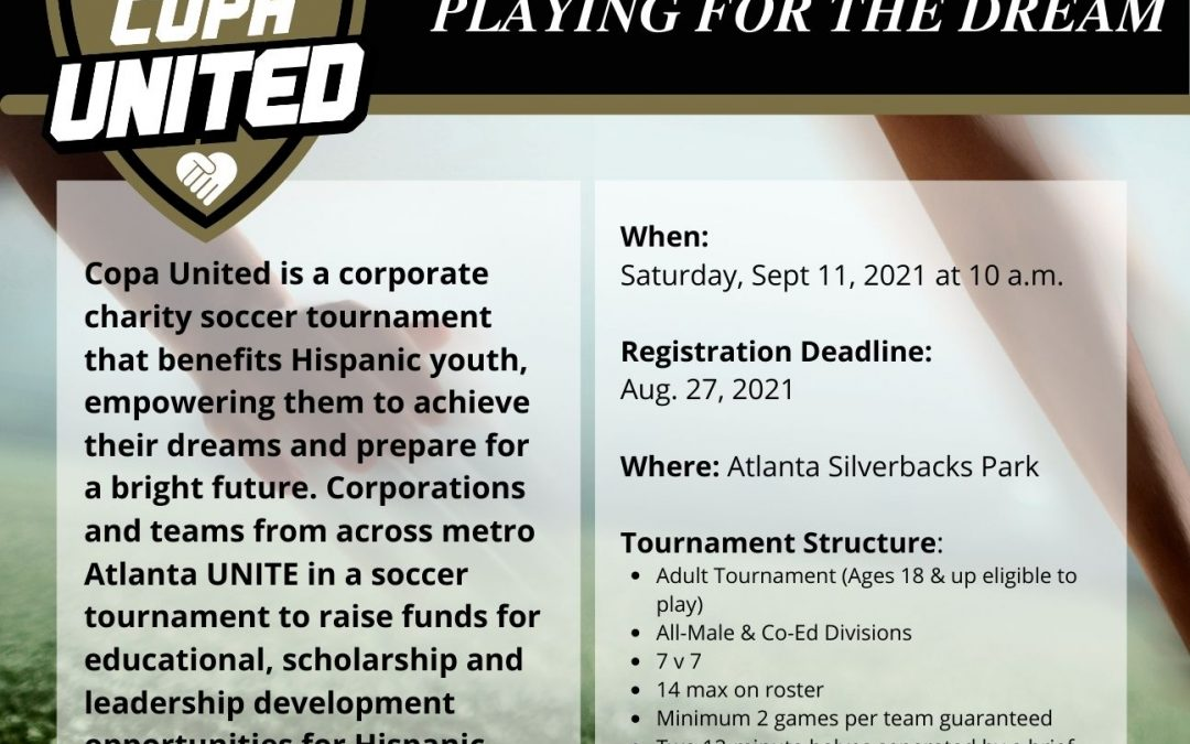 Copa United: Corporate Charity Soccer Tournament
