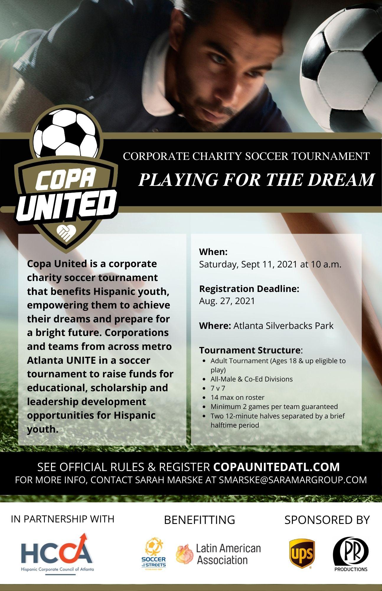 Copa United Charity Soccer Tournament
