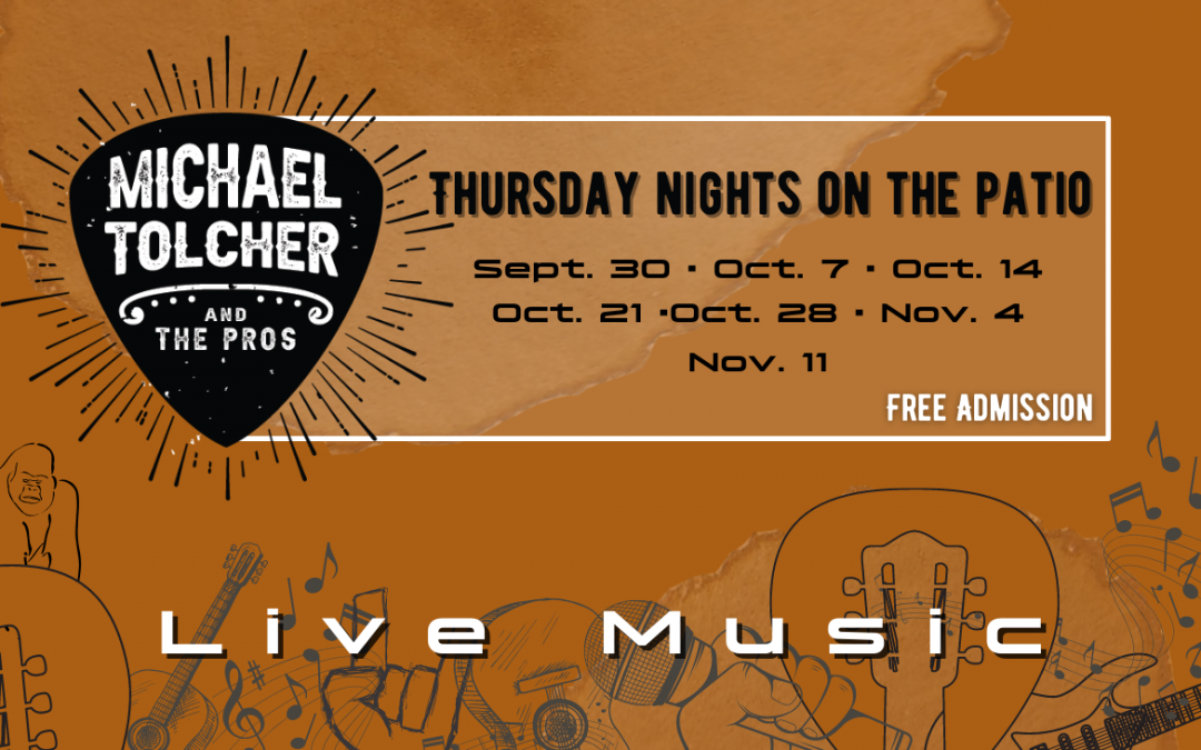 Live Music: Michael Tolcher and the Pros
